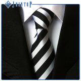 Cravate fabriquée à la main courante de polyester de prix bas pour l'homme
