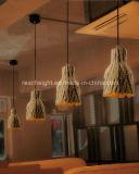 Restaurante Cafe Pub Madeira Vintage Club imitado Droplight Cimento/lâmpada de Suspensão
