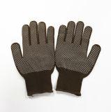 Sanjian ПВХ пунктирной нейлон бесшовный машины рабочие перчатки защитные перчатки