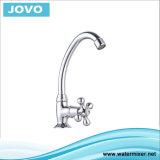Traitement simple Mixer&Faucet Jv74011 de corps de zinc