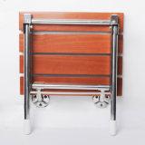 나무로 되는 목욕탕 벽 두껍게 하기 증강 샤워 시트 접히는 발판 통로 의자