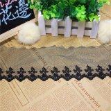 Lacet courant de réseau de fantaisie de garniture de broderie de polyester de largeur de la vente en gros 9.5cm d'usine pour des vêtements et des textiles et l'accessoire à la maison de rideaux (BS1109)