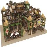 Campo da giuoco dell'interno del gioco dei giochi del giocattolo impertinente molle del castello
