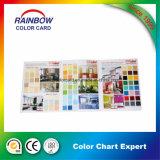Catálogo de cores completas de impressão de beleza decorativa Catálogo de cores