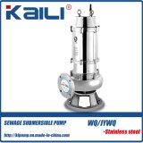 WQ / JYWQ Bomba submersível de esgoto em aço inoxidável integral para água suja