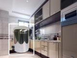 pattumiera rotonda dell'acciaio inossidabile 27L (rivestimento dello specchio) per la casa e l'hotel