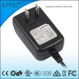 12V/1A/12W AC/DC Schaltungs-Energien-Adapter-Zubehör mit USA-Standard-Stecker