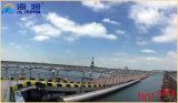 Estable y seguro de barco de acero galvanizado Pasillo escalera