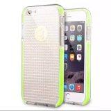 Caixa de cristal do telefone da faísca de Bling do Rhinestone do diamante de Brown para iPhone7plus/8/Note8