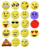 Paliers de coussin bourrés par peluche d'Emoji
