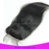 Могут быть покрашенные волосы с отбеленным закрытием шнурка узлов полным