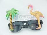 Flamingo e de partido e de novidade da palmeira óculos de sol (GGM-251)