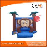 Gorila de salto del castillo del Moonwalk inflable del mono para los cabritos (T1-511)