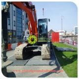HDPE aufbereitete blockierenölfeld-Bodenschutz-Matten-bewegliche große Plastikfußboden-Matte