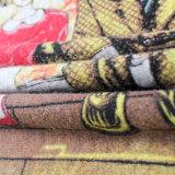 Strickjacke-Überformatpullover-runder Stutzen-lange Hülsen der vollen Drucken-Frauen, chinesischer Fabrik-Großverkauf