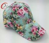 Gorra de béisbol bonita con la flor