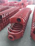 Трубопровод горячей постукивая седла H600X200, касании стопор оболочки троса, сшивание зажим, постукивая тройник, сшивание сшивание Hottap филиалов, постукивая опоры для чугунного трубопровода, ковких чугунных трубопроводов