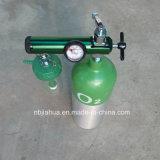 Nuova presa della sbavatura del regolatore 0-15lpm del serbatoio di ossigeno