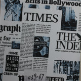 جريدة جديدة زاهية يطبع [بفك] جلد لأنّ أريكة [فورنتثر] مادة