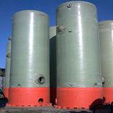 FRP GRP 압력 화학 저장 수직 탱크