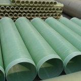Tubos verdes baratos del plástico reforzado fibra de vidrio FRP GRP