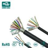 El cable de control Cu Conductores aislados con PVC, se proyectó el cable de control Kvv / Kvvp tensión nominal 450/750V aislados con PVC, el cable de control