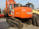 Escavatore idraulico utilizzato 220LC-5 del cingolo della Hyundai da vendere