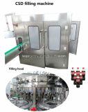 Linha de produção de enchimento Sparkling do equipamento da bebida Carbonated automática cheia da soda