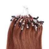 K.Sのかつらの熱い販売のMircoのリングの毛の容易なリングのケラチンの毛の拡張