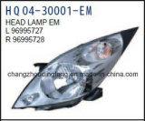 차 부속품 Chevrolet 불꽃 2010년을%s 자동 램프 헤드 램프 적합. OEM: 96995727/96995728