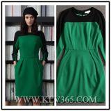 Новая оптовая продажа платья офиса дела Colorblock женщин типа способа