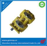 Komatsu 07400-30102 hidráulico de doble bomba de aceite de engranajes para bulldozer D75s-3/5