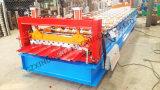 آليّة جديدة الصين لون معدن سقف لوح لف يشكّل آلة