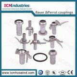 Accoppiamento di Bauer dell'accoppiamento della pompa del tubo flessibile/accoppiamenti tubo flessibile industriali di Perrot
