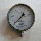 セリウムが付いている概要のタイプ振動抵抗力があるステンレス鋼の圧力計