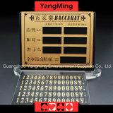 고급 순수한 구리 오락 내기 카드 - 1 (YM-LC08)