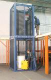 Plate-forme de l'élévateur hydraulique de levage du fret pour la vente de levage