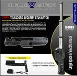 Baton d'étourdissement télescopique de police avec forte alarme / Baton électrique (SYST-888)