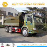 Sinotruk HOWO 25tonのダンプトラックのダンプカートラック