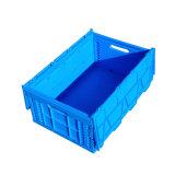 het Vouwbare Plastic Krat van het Huishouden 600X400 Agruiculture met Deksel