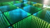 Ilusiones ópticas del LED Dance Floor 3D que bailan el azulejo para la barra del club de DJ