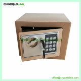 Mot de passe ou clé électronique de bureau de l'acier mini coffre-fort