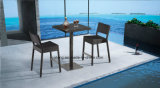 Tamborete de barra da mobília do hotel usando-se para o clube Mading pelo Rattan de Alumínio +Synthetic tecido (YT538)