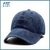 Крышка Snapback шлемов бейсбола вышивки джинсовой ткани изготовленный на заказ