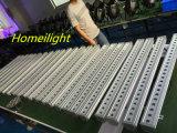 Arandela al aire libre linear de la pared de la iluminación de DMX512 24X 3W RGB LED