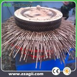 高性能の縦のリングはやし木製のおがくずの餌の製造所機械を停止する