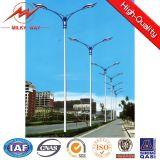 Q235 Aço Galvanizado 15m, 20m, 30m Street postes de luz com o braço transversal