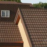 La vente directe de pierre colorée des tuiles du toit de métal par les fabricants