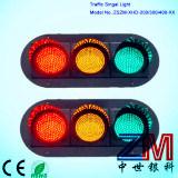 높은 광도 200/300/400mm LED 번쩍이는 신호등/교통 신호
