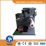 Rewinder機械を切り開くHx-320fqのバーコードラベル
